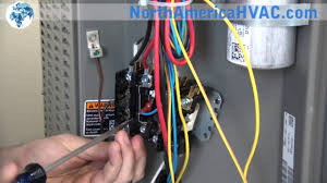 carrier ac contactor wiring diagram wiring diagram for you • how to replace a contactor relay hvac a c contactor replacement rh com electrical contactor wiring diagram single phase contactor wiring diagram