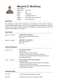 Professional Resume Cv Templates With Examples Topcv Me In Template ...