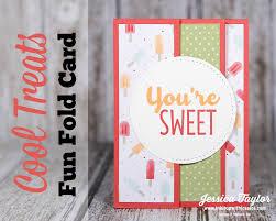 fold card summer fun fold card ink it up with card making ideas