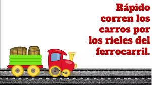 No kids under 10 years of age. Rapido Corren Los Carros Por Los Rieles Del Ferrocarril Youtube
