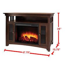 wyatt infrared 48 tv stand with fireplace