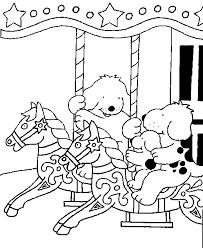 Dribbel Kinder Kleurplaten Kermis
