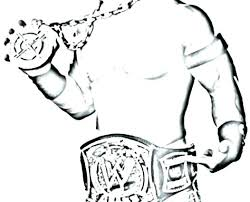 Various John Cena Coloring Pages Printable F5277 Pleasant Wwe John