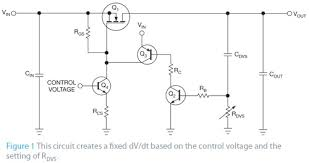 simple circuit controls the rate of voltage change across a  simple circuit controls the rate of voltage change across a capacitor or another load figure 1
