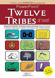 12 Tribes Of Israel Month Chart Twelve Tribes Of Israel Powerpoint Rose Publishing