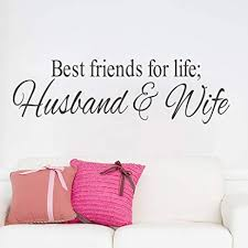 Amazon Best Friends For Life Husband And Wife Quotes Vinyl Wall Stunning Quotes About Husband Wife