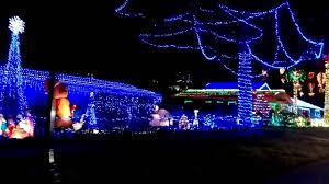 Christmas Light Displays Daytona Beach Christmas Lights At A Motel Near Daytona Beach Youtube