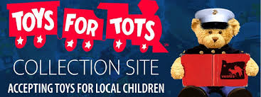 drop off toys for tots at rest haven chapels