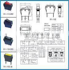 electrical rocker switch t125 55 for electric fireplace