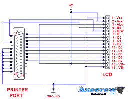 add cool multi function lcd to your pc digit technology above circuit is for 16×2 40×1 hd44780 compatible display