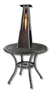 table heater. phsqgh-tt sunheat contemporary square design tabletop patio heater with decorative variable flame - golden hammered finish table