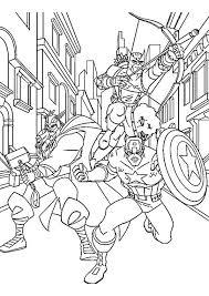 Avengers Da Colorare Marvel Disegni Da Colorare Occhio Di Falco