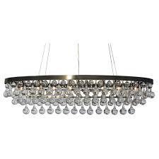 curtain gorgeous rectangular glass drop chandelier 25 celeste oval crystal antique brass 4005b4c0 5b60 4513 859c