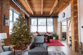 Tour a Classic Chicago Loft Ready for Christmas