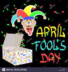 April Fools Day. Vector illustration for greeting card, ad, promotion,  poster, flier, blog, article, marketing, signage, email Stock Vector Image  & Art - Alamy