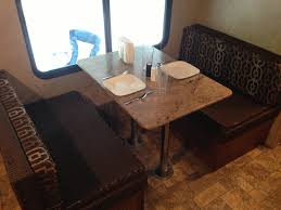 Dinette Area That Also Converts Into A Bed Valet Rv Rental Llc