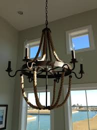 chair fabulous nautical rope chandelier 29 industrial bronze finish with 6 light design adorable for your