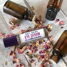 natural anti aging serum with essential oils boosts collagen rejuvenates cells