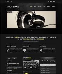 Music Website Templates Extraordinary 48 Music PHP Themes Templates Free Premium Templates