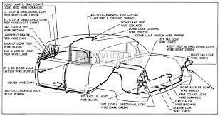 1955 buick wiring diagrams hometown buick 1955 buick body wiring circuit diagram model 41 style 4469