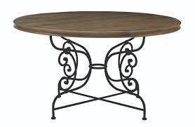 good looking round metal table base nice glass dining with a