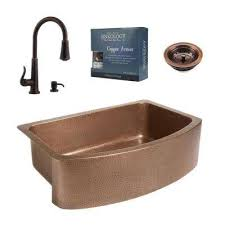 Is A Stone Sink Right For Your Kitchen  HGTVHow To Care For A Copper Kitchen Sink