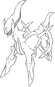 Pokemon Arceus Coloring Pages Carriembeckerme