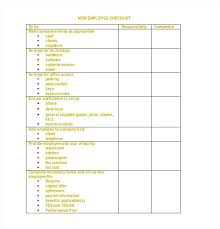 Employee File Checklist For Staff File Template Personnel Audit Checklist Employee