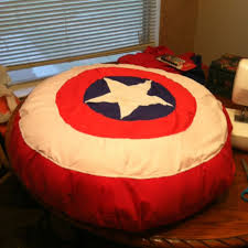 bedroom bean bags captain america bean bag chair d