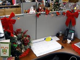 office christmas theme. Office Christmas Cubicle Theme A
