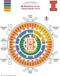 Illinois Basketball Seating Chart University Of Illinois Online Ticket Office Seating Charts