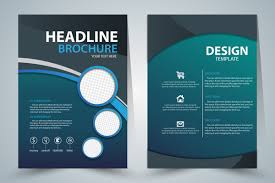 Ebrochure Template Brochure Template Design With Green Elegant Style Free