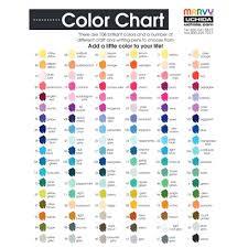 Le Plume Markers Color Chart Bedowntowndaytona Com