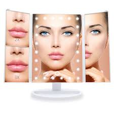 Wondruz Lighted Makeup Mirror Wondruz 2018 Upgraded Version Lighted Makeup Mirror 24