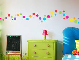 Polka Dot Bedroom Decor Wall Decor For Kids Bedroom With Polka Dot Theme