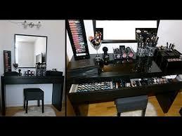 makeup vanity ikea. ikea malm vanity makeup table - organization storage o