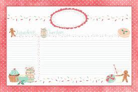 avery recipe card template christmas recipe card template lovely recipe cards christmas