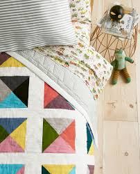 Quilts For Kids - Kids Quilt Bedding | Hanna Andersson & Reversible Patchwork Puzzle Quilt Adamdwight.com