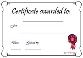 Certificado En Blanco Para Imprimir