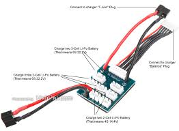 balance charging multiple single cell lipo batteries rc groups e g this balancing board has its own power lines