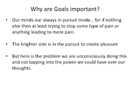 how to set goals in life  4 why are goals important