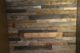 how to build a pallet wood feature wall