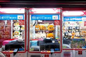 Toy Vending Machine Awesome Toy Crane Game Vending Machine At Game Center In Tokyo Japan