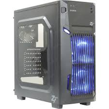 <b>Корпус Miditower ZALMAN</b> < Z1 NEO > Black <b>ATX</b> без БП, с окном