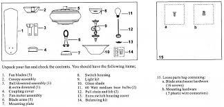 casablanca fan parts diagram hampton bay ceiling fan mounting bracket fans parts box harbor
