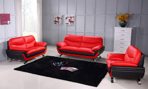 Black leather couch Contemporary Open In New Windowbhjonus Comfyco Jonus Redblack Sofa Jonus Beverly Hills Furniture Leather Sofas