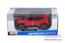 maisto special edition jeep renegade suv 2017 1 24 scale cast