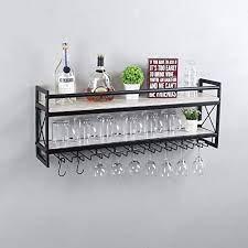 tier metal stemware rack 36 wine racks