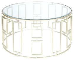 glass round coffee table worlds away jenny silver leafed coffee table round ikea glass coffee table