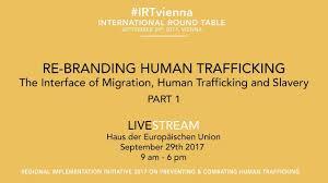 livestream part 1 international round table re branding human trafficking